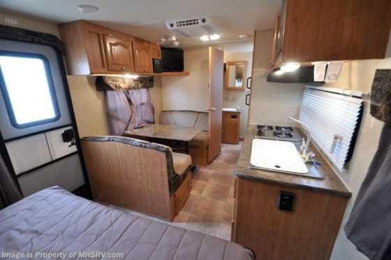 Used 2011 Rockwood Mini Lite (2104) Used Travel Trailer RV For Sale Floorplan