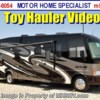 New 2013 Thor Motor Coach Outlaw Class A Toy Hauler Motor Home for Sale (3611) For Sale by Motor Home Specialist available in Alvarado, Texas