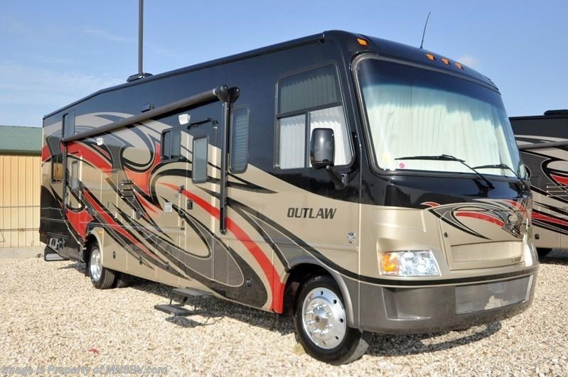 2013 thor motor coach rv outlaw class a toy hauler for Thor motor coach outlaw for sale