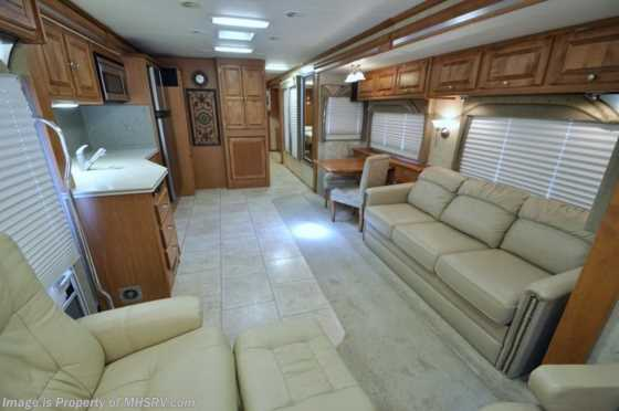Used 2007 Tiffin Allegro Bay Diesel W/4 Slides (37QDB) Used RV For Sale Floorplan