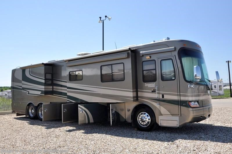 2006 holiday rambler rv imperial w 4 slides 42dsq used for Motor homes for sale in texas