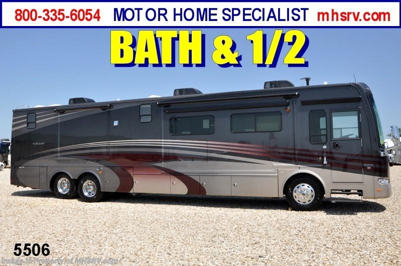 2013 thor motor coach rv tuscany 45lt bath 1 2 luxury rv for Motor home specialist inc alvarado texas