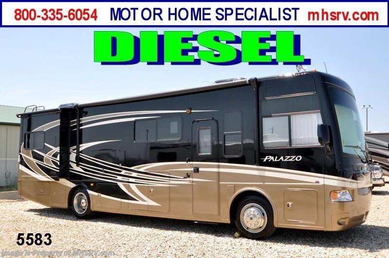 2013 thor motor coach rv palazzo 33 2 diesel rv for sale w for Motor home specialist inc alvarado texas