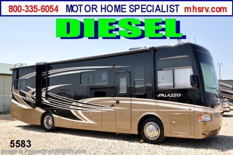 New 2013 Thor Motor Coach Palazzo 33.2 Diesel RV for Sale W/2 Slides For Sale by Motor Home Specialist available in Alvarado, Texas