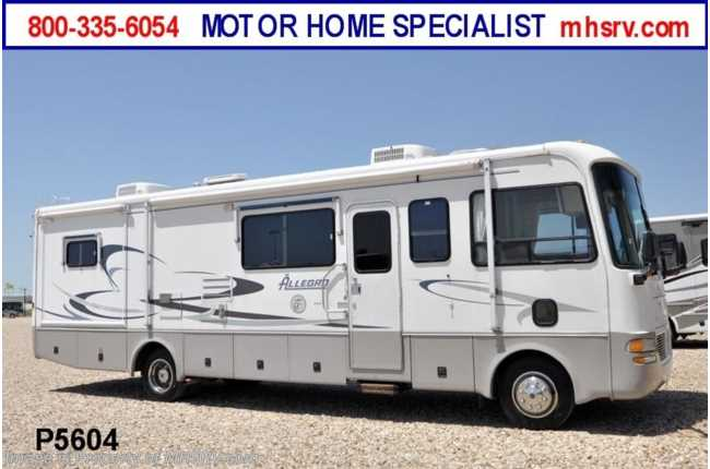 Used 2002 tiffin allegro bay for Class a rv height