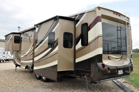 New 2012 Heartland RV Landmark With 4 Slides For Sale by Motor Home Specialist available in Alvarado, Texas