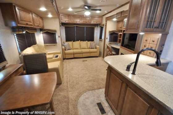 New 2012 Heartland RV Landmark With 4 Slides Floorplan