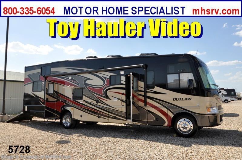 2013 thor motor coach rv outlaw toy hauler rv for sale for Motor home specialist inc alvarado texas