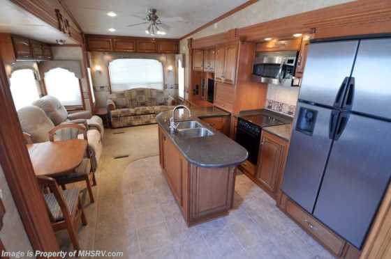 Used 2010 DRV Select Suites W/3 Slides (36KSSB) Used RV for Sale Floorplan
