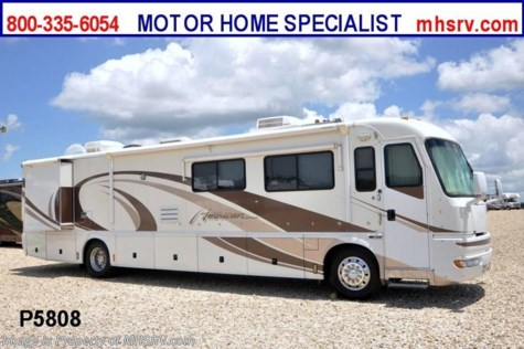 Used 2000 American Coach American Tradition W/2 Slides Used RV for Sale For Sale by Motor Home Specialist available in Alvarado, Texas