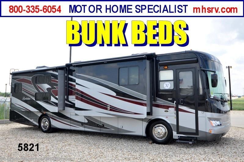 2013 forest river rv berkshire w 4 slides 390bh 40 new for Motor home specialist inc alvarado texas