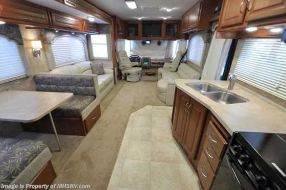 Used 2008 Fleetwood Bounder W/2 Slides 34G Used RV for Sale Floorplan