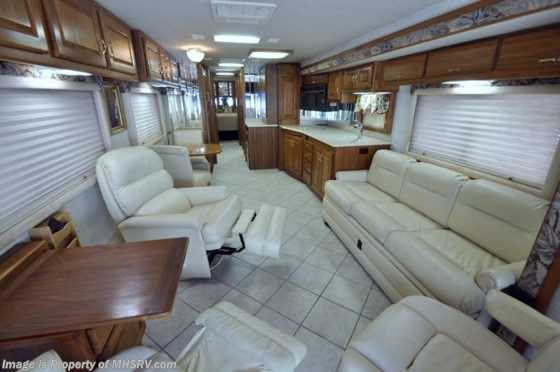 Used 1999 Country Coach Intrigue W/Slide (40SLD) Used RV for Sale Floorplan
