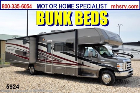 New 2013 Coachmen Leprechaun Bunk House RV for Sale 32BH W/2 Slides For Sale by Motor Home Specialist available in Alvarado, Texas