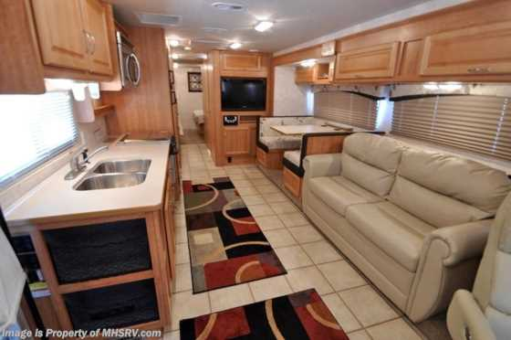 Used 2010 Fleetwood Bounder Classic Bunk House W/2 Slides RV for Sale Floorplan