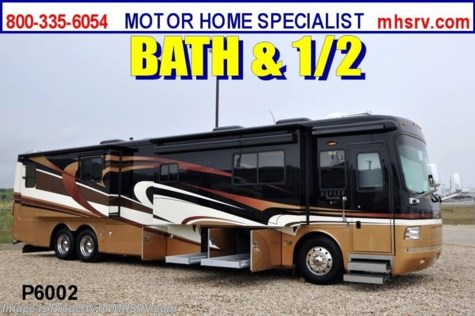Used 2009 Monaco Dynasty Tag Axle Bath & 1/2 W/4 slides For Sale by Motor Home Specialist available in Alvarado, Texas