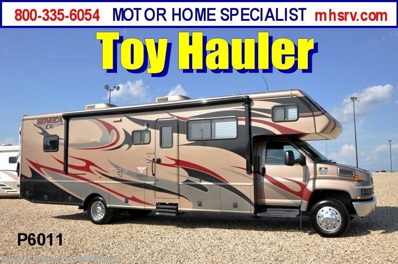 2008 jayco rv seneca diesel toy hauler w slide used rv for for Motor home specialist inc alvarado texas