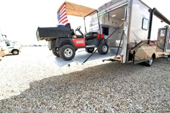 Used 2008 Jayco Seneca Diesel Toy Hauler W/Slide Used RV for Sale Floorplan