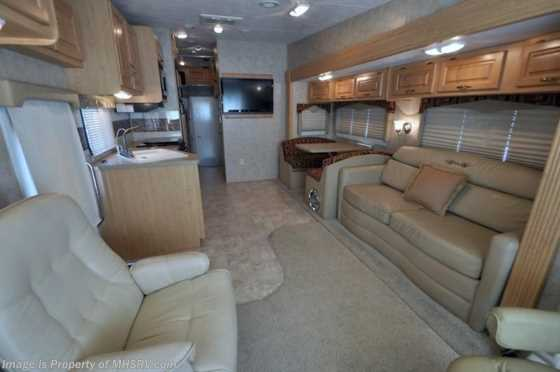 Used 2008 Damon Outlaw (3611) Toy Hauler W/Slide Used RV for Sale Floorplan