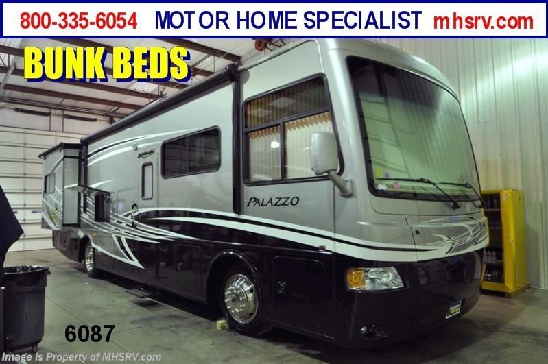 2013 thor motor coach rv palazzo 33 3 bunk house rv for for Motor home specialist inc alvarado texas
