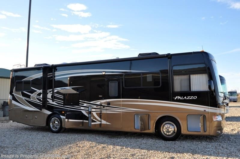 2013 Thor Motor Coach Rv Palazzo 33 3 Bunk Model Rv For