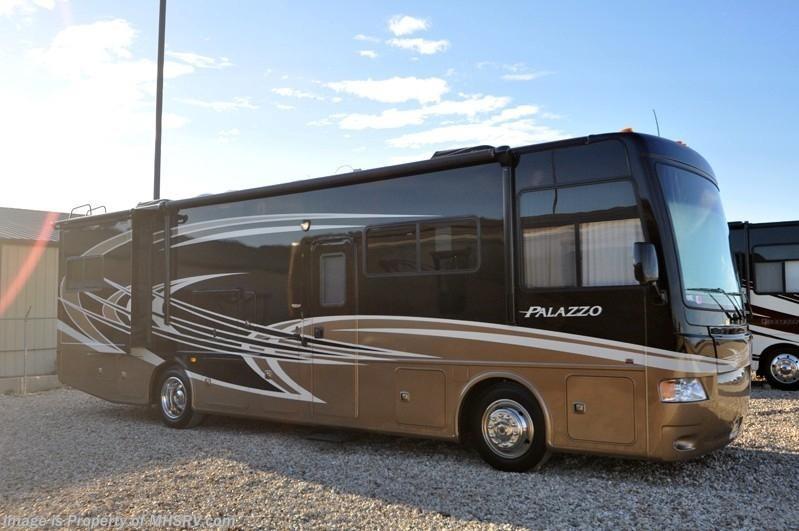2013 thor motor coach rv palazzo 33 3 bunk model rv for for Thor motor coach rv for sale