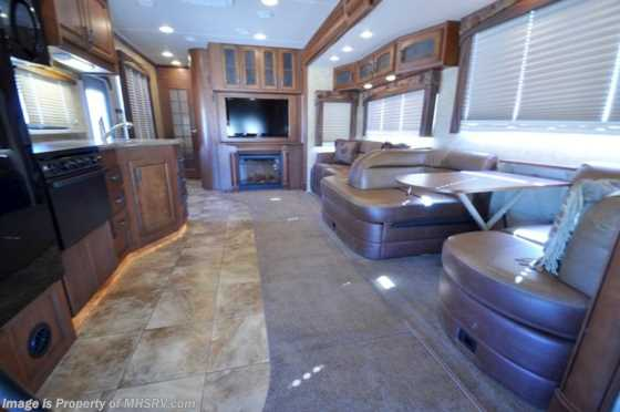 Used 2012 Jayco Seneca (36FK) W/2 Slides Used RV for Sale Floorplan