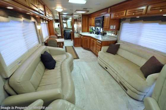 Used 2001 Monaco RV Dynasty (40 Regent)W/2 Slides Used RV for Sale Floorplan