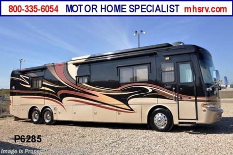6285 2007 monaco camelot 42pdq w 4 slides tag axle for Motor home specialist inc alvarado texas