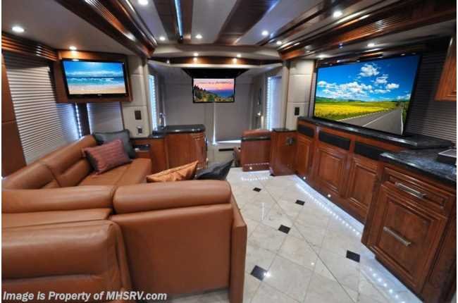 New 2015 Prevost H3 45 Quad Slide By Outlaw Coach