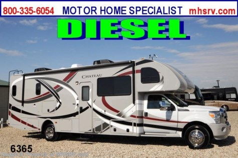 New 2013 Thor Motor Coach Chateau Super C (33SW)W/Full Wall Slide Diesel RV for Sale For Sale by Motor Home Specialist available in Alvarado, Texas