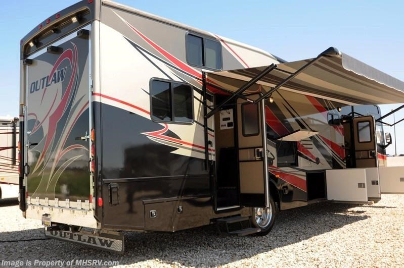 2014 thor motor coach rv outlaw 37ls w slide toy hauler rv for Thor motor coach outlaw for sale