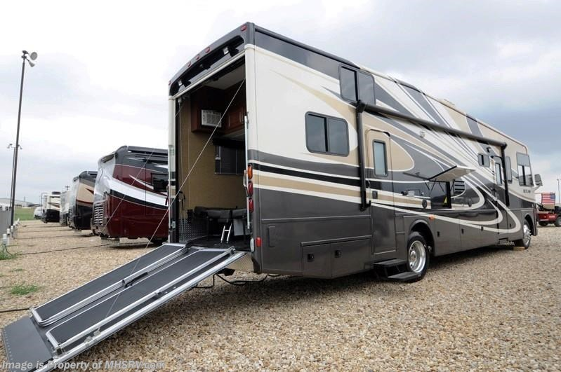 2014 thor motor coach rv outlaw model 37ls w slide toy for Motorized toy hauler rv for sale