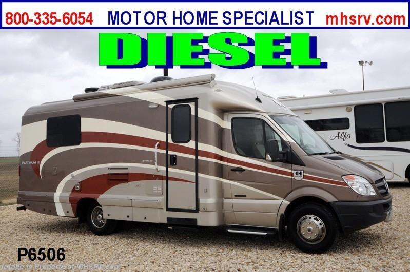 2013 coach house rv platinum ii 241 xl w slide used rv for Motor home specialist inc alvarado texas
