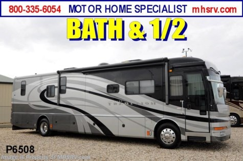 Used 2007 American Coach American Tradition (40Z)Bath & 1/2 W/3 Slides Used RV for Sale For Sale by Motor Home Specialist available in Alvarado, Texas