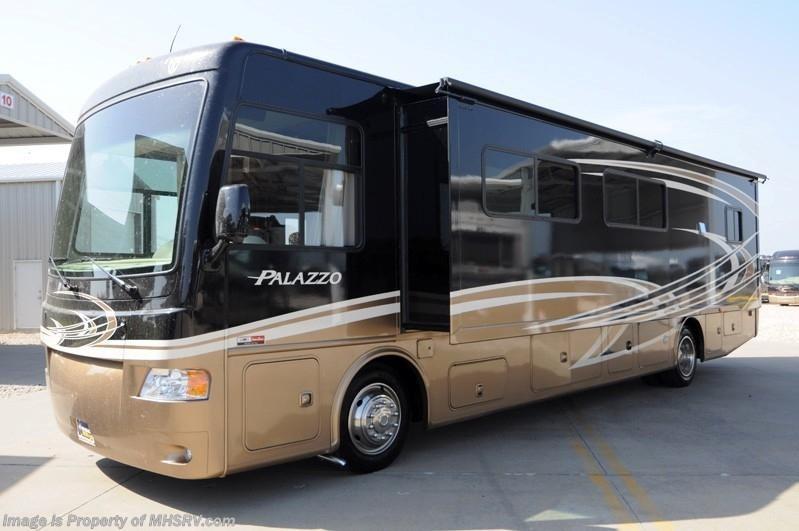2013 thor motor coach rv palazzo 36 1 bath 1 2 rv for for Thor motor coach rv for sale