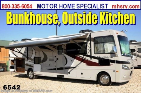 New 2014 Thor Motor Coach Hurricane (34J)All New Bunk Model RV For Sale by Motor Home Specialist available in Alvarado, Texas