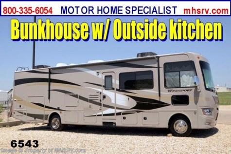 New 2014 Thor Motor Coach Windsport (34J) New Bunk Model RV for Sale For Sale by Motor Home Specialist available in Alvarado, Texas