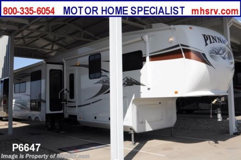 Used 2011 Jayco Pinnacle (36REQS) W/4 Slides Used RV for Sale For Sale by Motor Home Specialist available in Alvarado, Texas