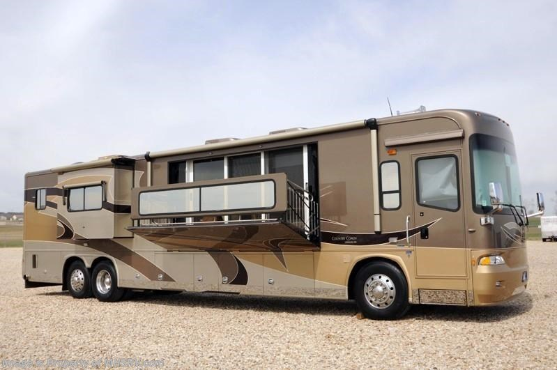 Used Motorhomes For Sale Texas >> 2009 Country Coach RV Veranda Bath & 1/2 Luxury RV W/4 Slides including Power Ve for Sale in ...