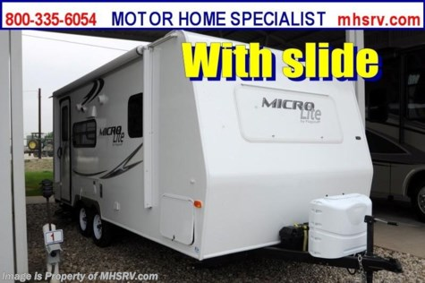 Used 2012 Forest River Flagstaff Micro Lite (21FBRS) W/Slide Used RV for Sale For Sale by Motor Home Specialist available in Alvarado, Texas