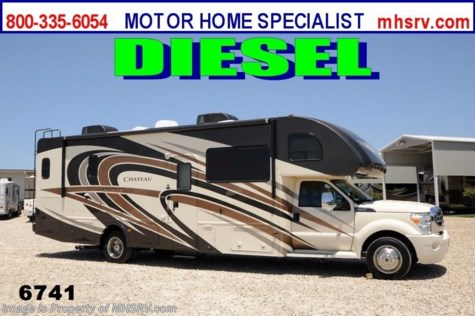 New 2014 Thor Motor Coach Chateau Super C 33SW W/Full Wall Slide Diesel RV for Sale For Sale by Motor Home Specialist available in Alvarado, Texas