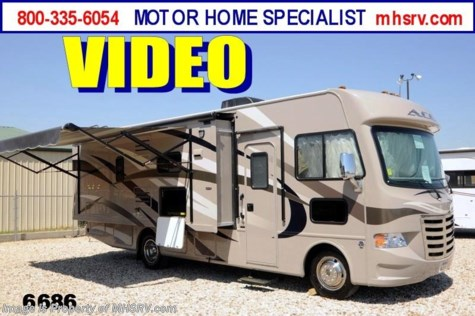 New 2014 Thor Motor Coach A.C.E. ACE W/Slide(27.1) New RV for Sale For Sale by Motor Home Specialist available in Alvarado, Texas