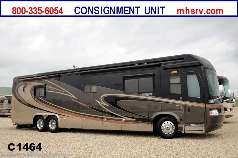 2009 beaver rv patriot thunder w 4 slides and tag axle rv for Motor homes for sale in texas