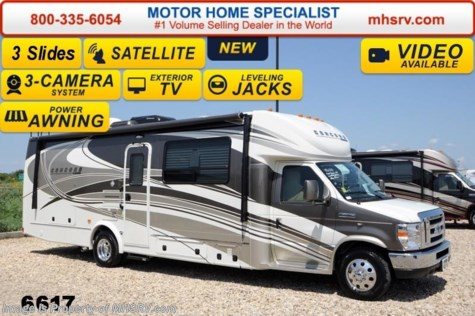 New 2014 Coachmen Concord 300TS W/Jacks, Sat, Alum Wheels, 3 TV, 3 Cameras For Sale by Motor Home Specialist available in Alvarado, Texas