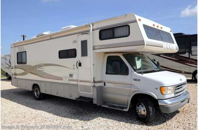 Used 1999 fleetwood tioga sl for Class a rv height