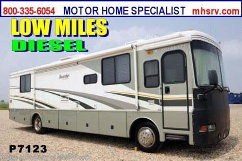 Used 2005 Fleetwood Bounder Diesel W/2 Slides RV for Sale For Sale by Motor Home Specialist available in Alvarado, Texas