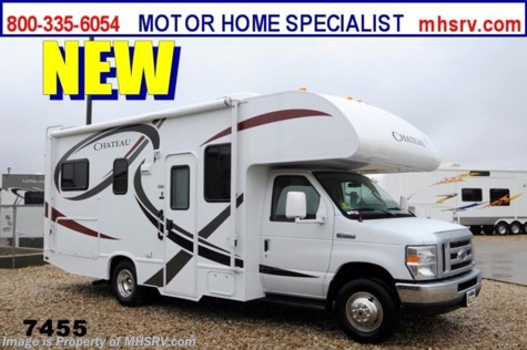 New 2014 Thor Motor Coach Chateau (Model 23U) Class C RV for Sale For Sale by Motor Home Specialist available in Alvarado, Texas