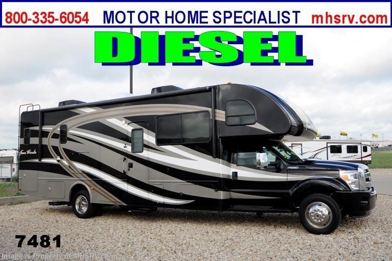 Model 2014 Thor Motor Coach RV Four Winds Super C 33SW WFWS Diesel RV For