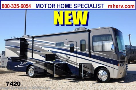 New 2014 Thor Motor Coach Miramar 32.1 W/Exterior TV & 2 Slides (Stone/Cherry) For Sale by Motor Home Specialist available in Alvarado, Texas